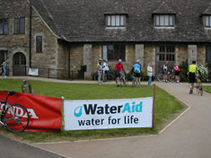 Water aid banner